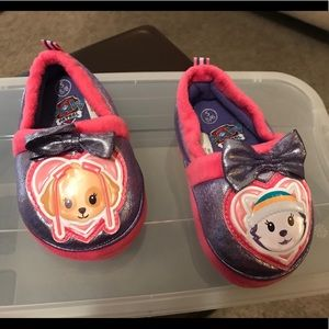 Paw Patrol Slippers Toddler Size 5/6